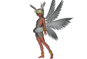 Walking Lucemon by MMDFreak