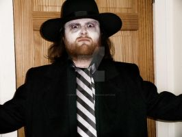 Original Mortician Debut 1990 Undertaker Cosplay by SpiritOfTheWolf87