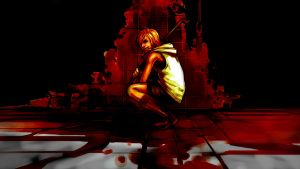 Silent Hill 3 Bloody Wallpaper v1.0 by Razpootin