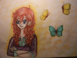 butterfly by thedrumergirl