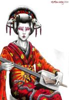 Geisha Two by Nebuzad0