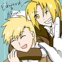 FMA MOVIE : Edward n' Alfons by akai-sakuranbo