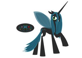 Princess Crystalis/Queen Chrysalis by 0Flutterstorm