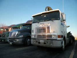 1999 International Cabover by roaklin