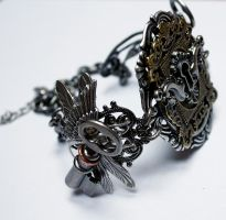 Key hole collection (necklace II) by Pinkabsinthe