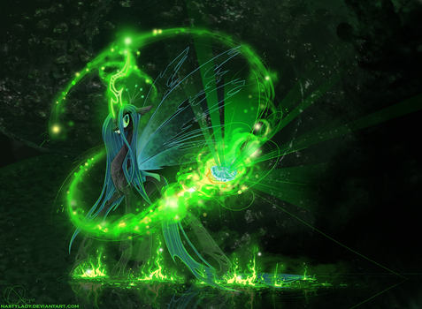 Queen Chrysalis by NastyLady