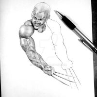 Old Man Logan - Pen by Paul-art