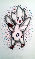 Lucky the Togetic by Violindaire-sama