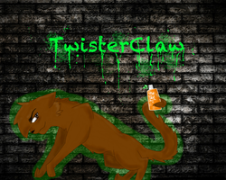 Twisterclaw of Riverclan by SimplyMisty