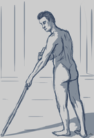 51 - Male Figure X by Shasel