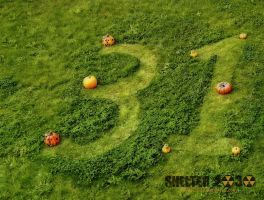 31 (October) the pumpkins path to Halloween by Shelter2030