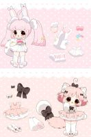 Pom Tails* FLAT RATE [closed] by Hinausa