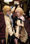 Rin and Len Daughter of Evil by KathytheGoth