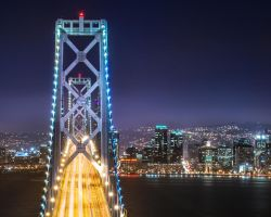 Bay Bridge, San Francisco by alierturk