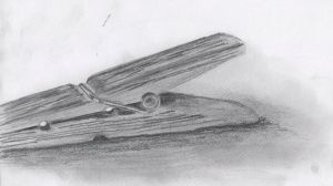 Drawing I - Clothes pin by munjey86