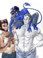 Fearsome Threesome by Mistress-D