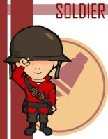 TF2 Chibi Red Soldier by Fir3Ph03n1X