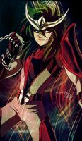 Andromeda shun - Saint seiya fan art by MCAshe