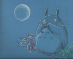 Totoro by sylviusart