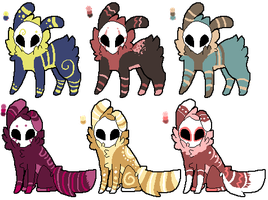Skull Fuzzy Adopts .OPEN. by Enki-Ri
