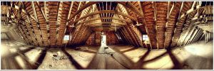 attic panorama by suckup