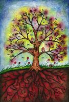 Tree of Life by SquareBugArt
