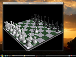 Vista style chess on XP by fediaFedia