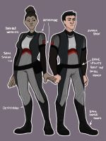 25th Hunger Games Arena Outfits by Gamemaster59