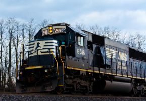 Norfolk Southern Locomotive by missconceitedme
