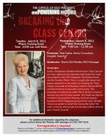 Breaking the Glass Ceiling by ArtiestDesign