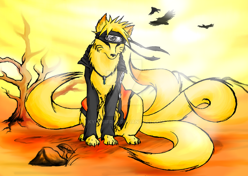 kitsune's wind by kyuubifred