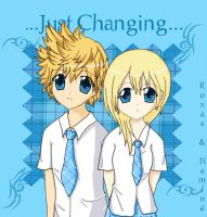 .:Just Changing:. Namine+Roxas by Assleia