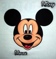 MICKEY MOUSE FACE by javiercr69