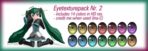 Eyetexture pack Nr 2 (Download) by Ina-C