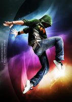 Break Dance Poster 2 by Mohammad-GFX