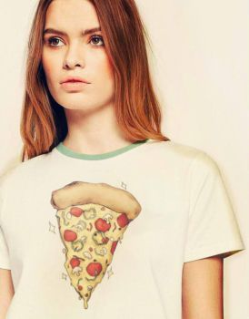Nineties Pizza T-shirt Design by SugarHit