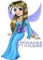 Personality Fairies: Princess by evafortuna