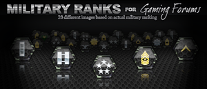 Military ranks by bry5012