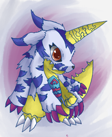Gabumon by cheerubi