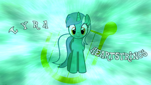 Lyra wallpaper by Fragin