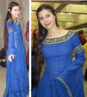 Luthien cosplay at the Expomanga 2014 by ArwendeLuhtiene