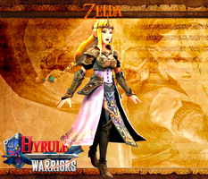 Zelda (Hyrule Warriors) by LordHyrule