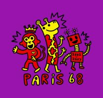 New shirt for Paris '68 by popartmonkey