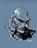 CREATURE FROM THE BLACK LAGOON by JollyGorilla