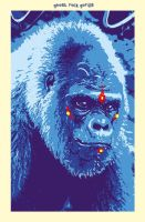 Blue Gorilla by gammahed