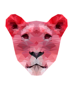 Polygon Tigress Red by Jay-teh-butt