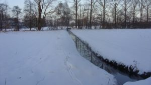 Snow Creek- 1  Stream, River by Crystelly