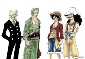 One Piece, 2Y after by heivais