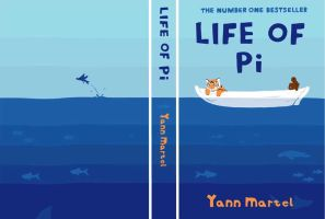 Life of Pi book cover by Mablox