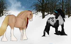 Rumba in the Snow by BrindleTail